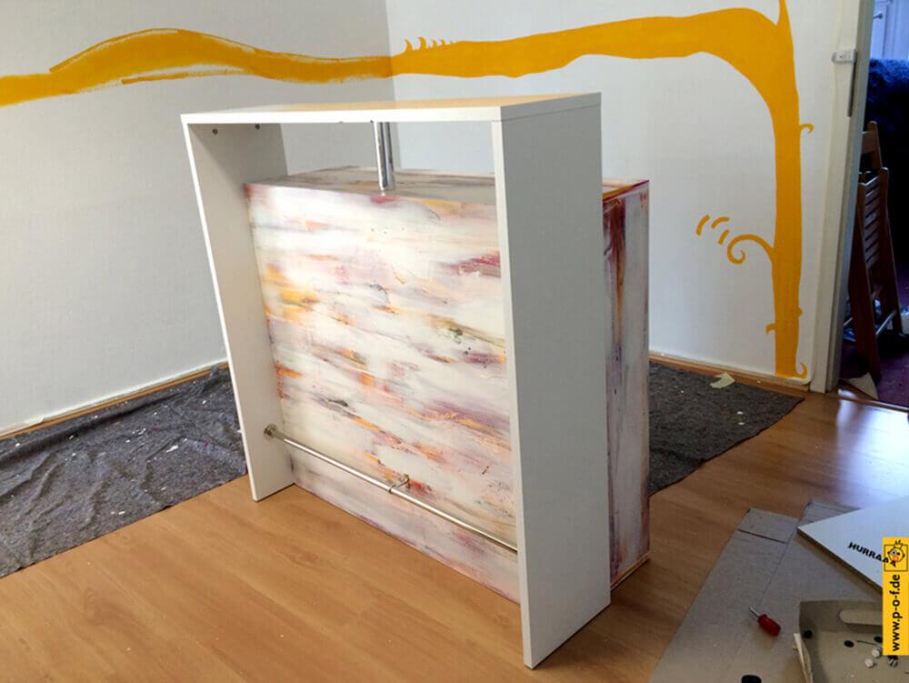 Allongé Studio 1 Tresen neu gestaltet