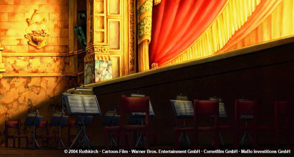 Laura Stern Film - Orchestergraben