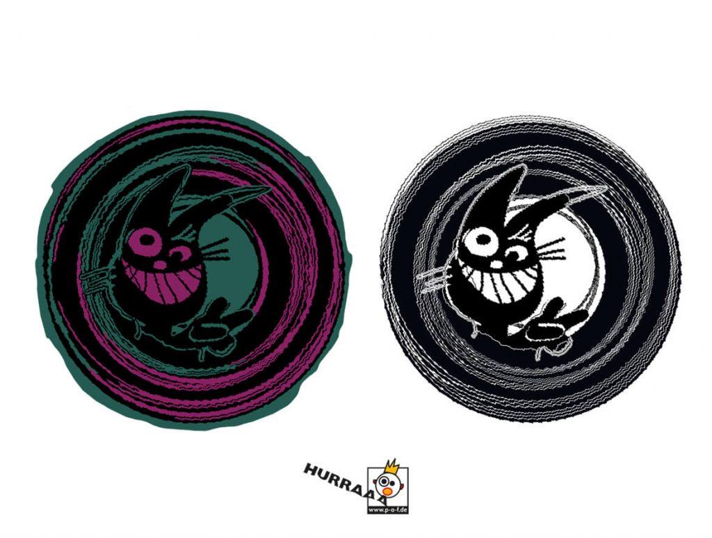 Logo für das imaginäres Label Bunnysound