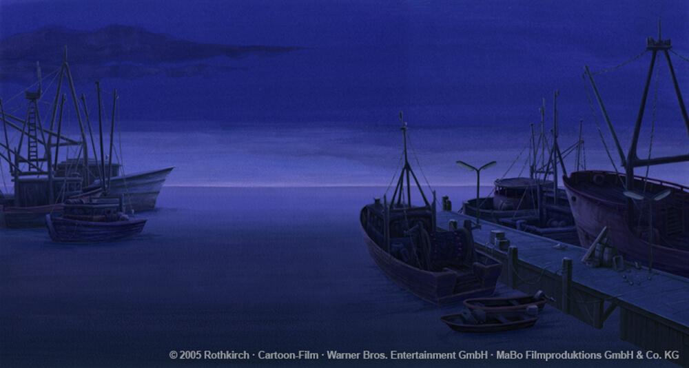 kleiner Eisbaer Film 2 - Schiffe bei Nacht