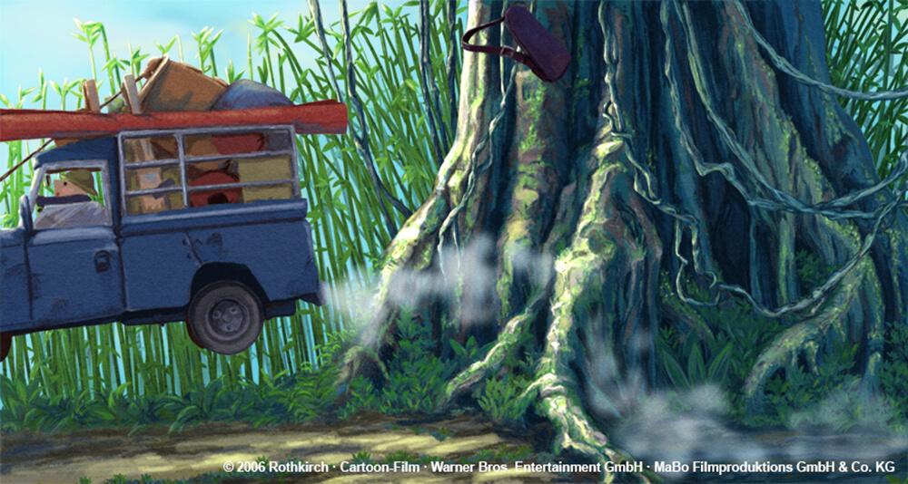 kleiner Dodo TV - Background-Entwurf