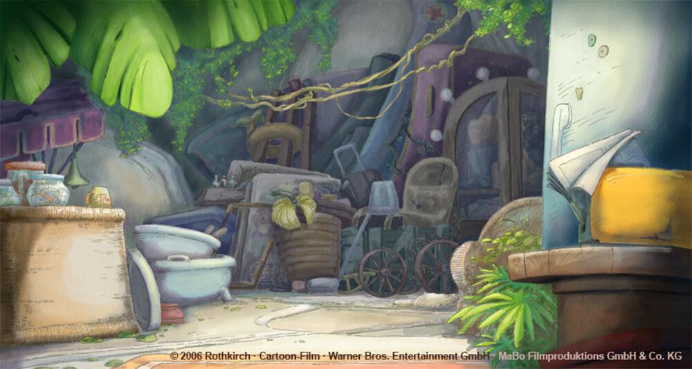 kleiner Dodo TV - Affenhöhle
