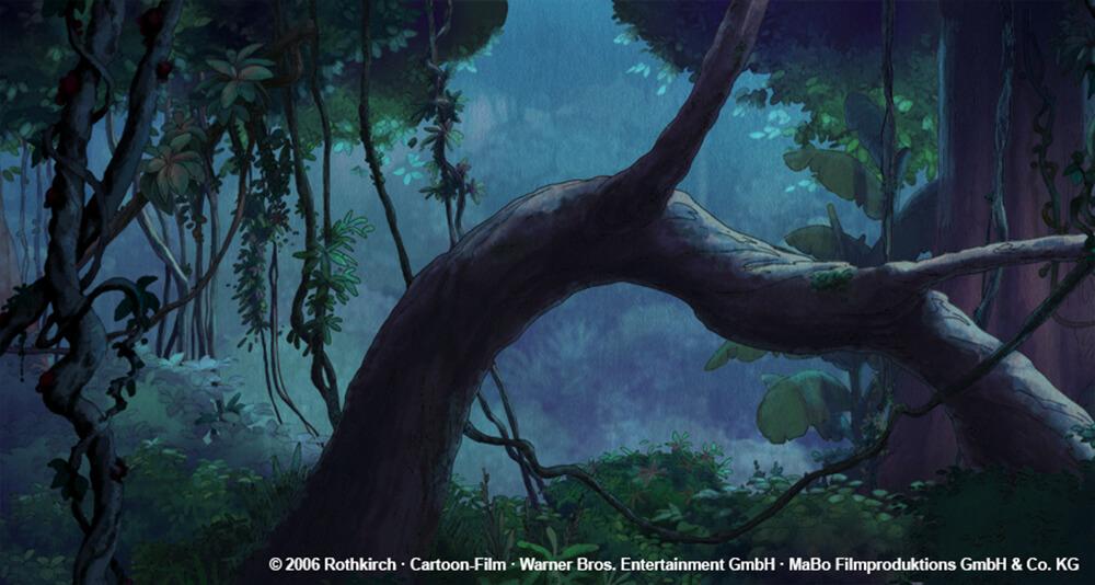 kleiner Dodo TV - Wald bei Nacht