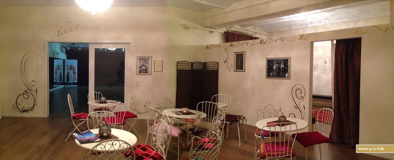 Hayal Tanzstudio Eingangsbereich mit den neuen Wandtatoos