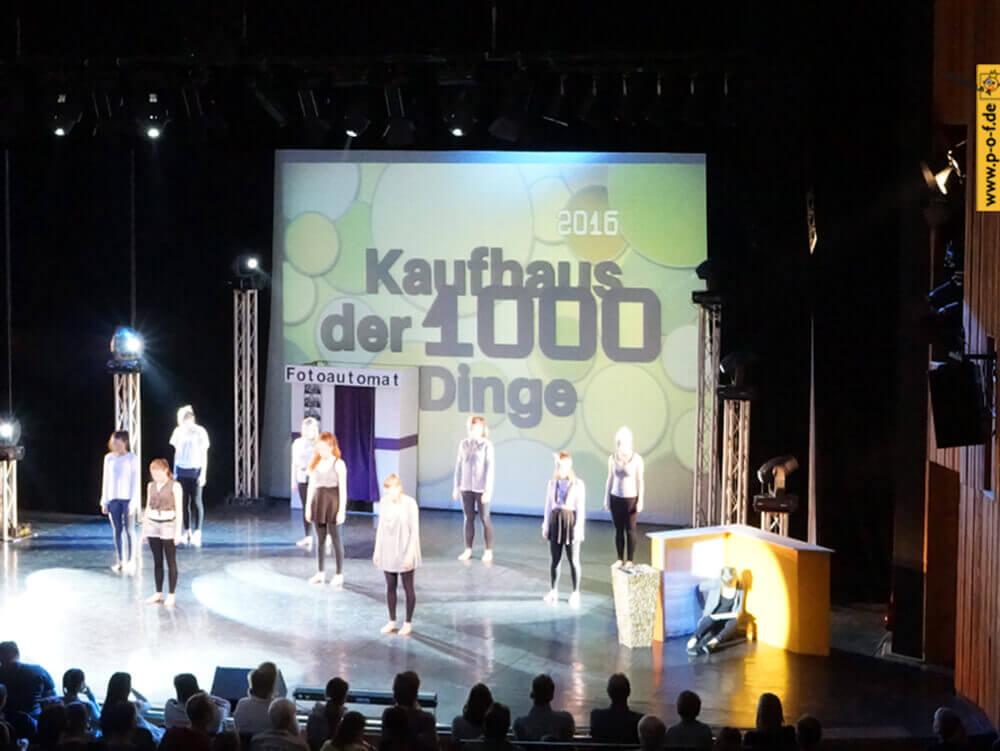 Allongé - Tanzmärchen 2016 - Bühnenbild - Kaufhaus der 1000 Dinge