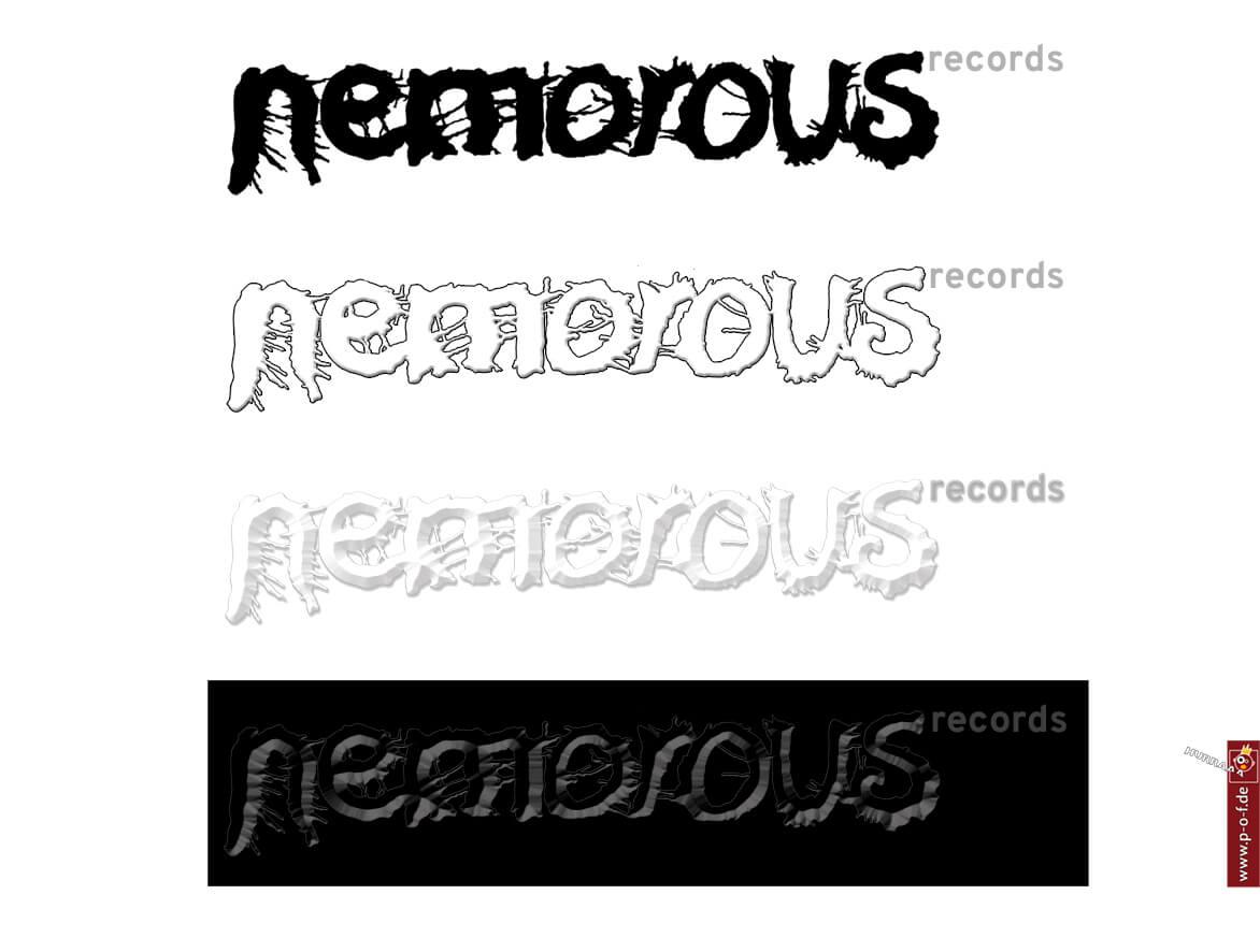 Nemorous ist ein Logo für ein berliner Label
