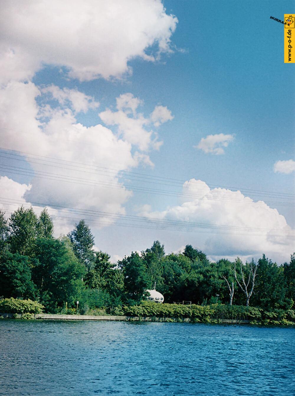 Ufo - in der Nähe vom Rechenzentrum