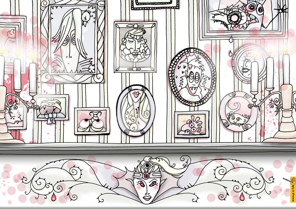 Wohnzimmer der Gräfin Nelly