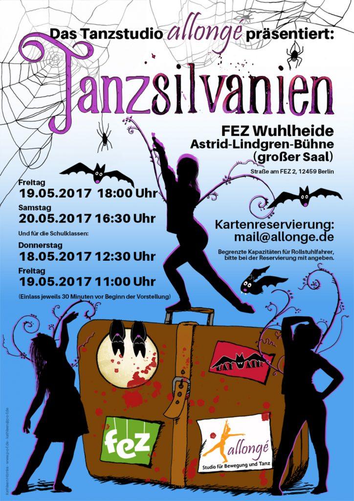 Plakat - Allongé - Tanzmärchen 2017 - Tanzsilvanien