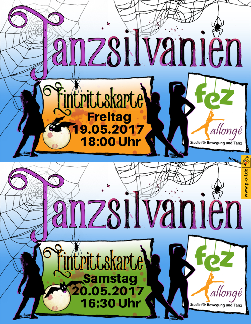 Eintrittskarten - Allongé - Tanzmärchen 2017 - Tanzsilvanien